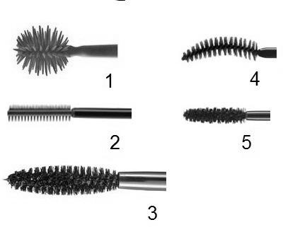 aplicadores de mascara para cilios