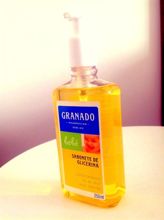 sabonte glicerina granado para bebe